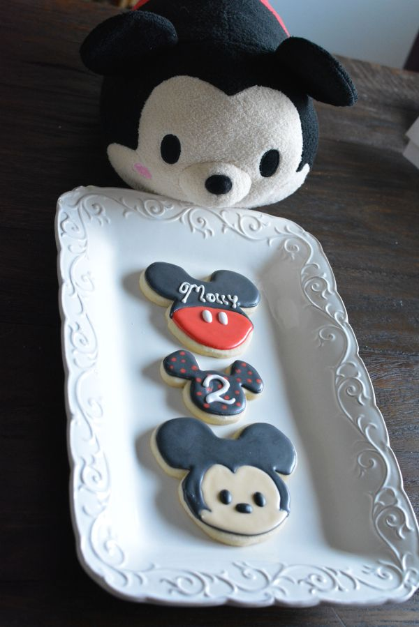 Of course a stuffed Mickey Tsum Tsum had to be included in this picture.